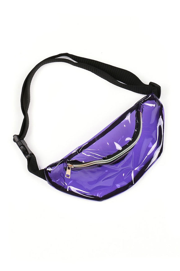 Transparent Colorful Waist Pack