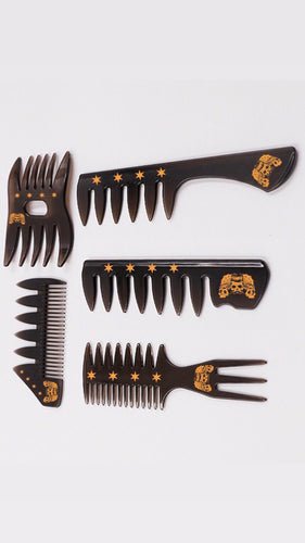 ROCKSTAR HAIR COMB SET (5 pieces)