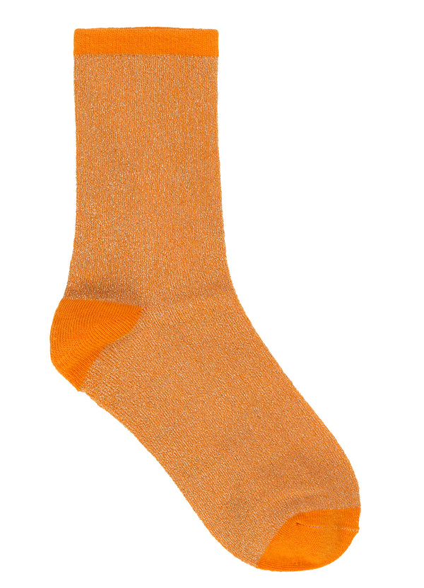 Dina Solid Sock Orange