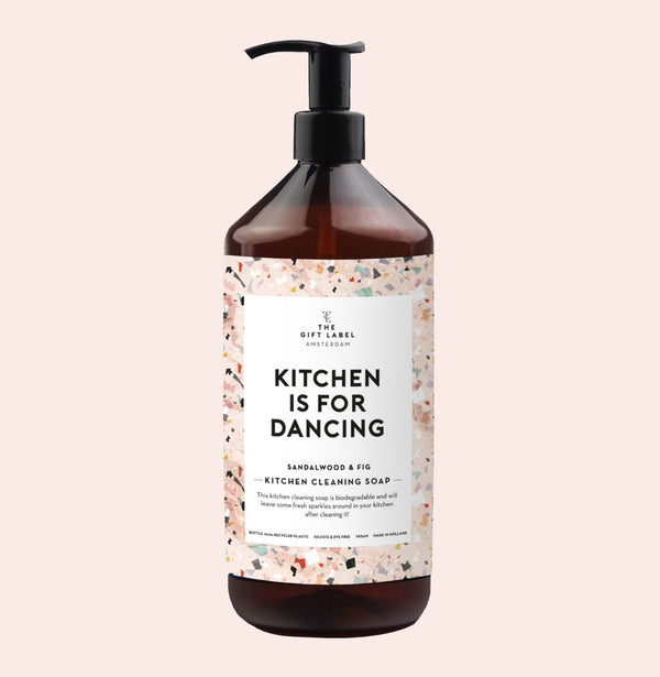 Kitchen Is For Dancing Opvaskemiddel Sandalwood & Fig
