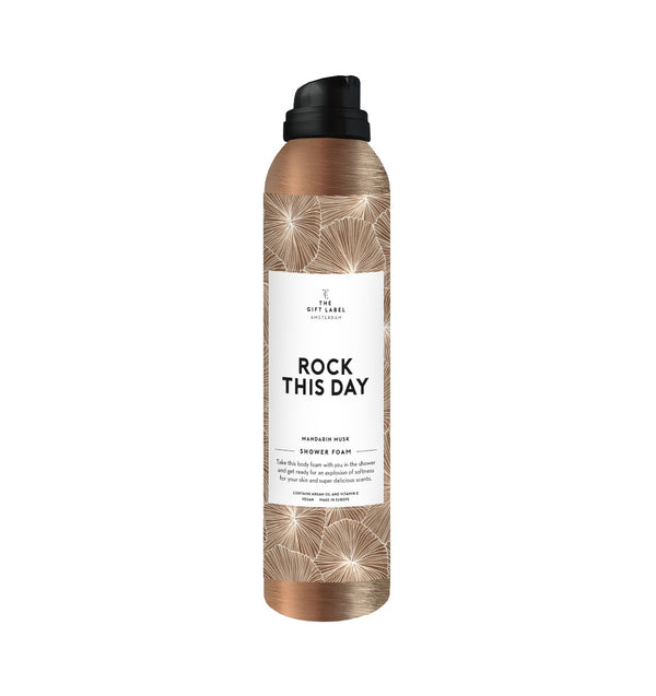 The Gift Label Rock This Day Body Foam Mandarin Musk