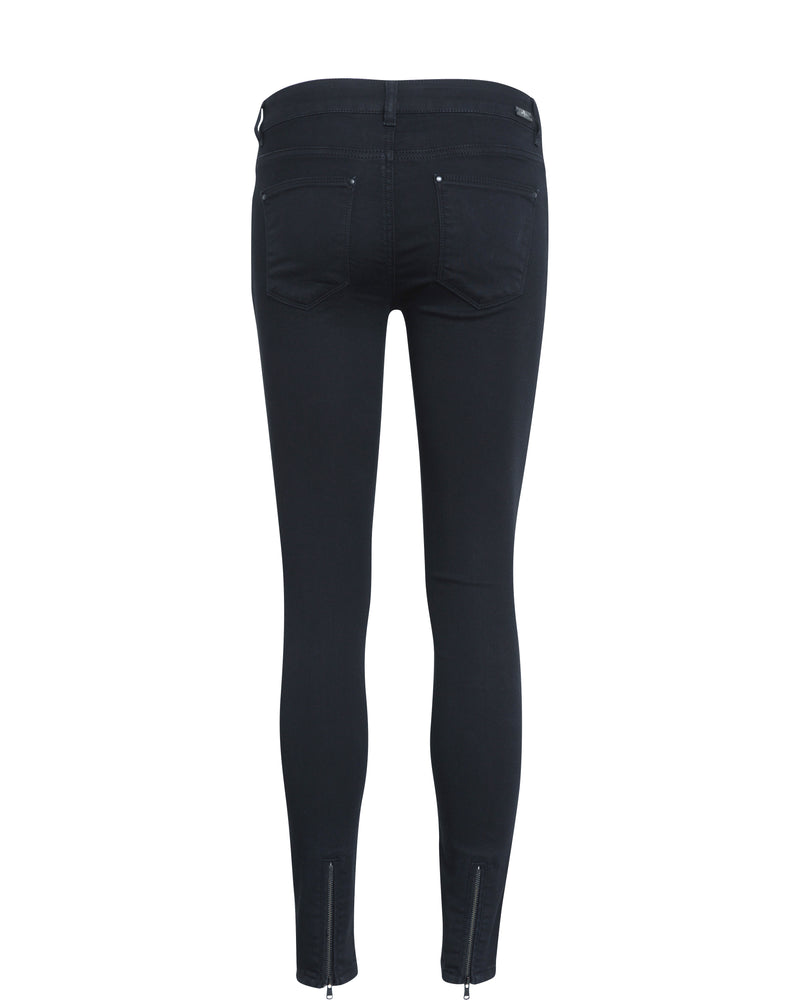 Victoria 7/8 Silk Touch Jeans Black