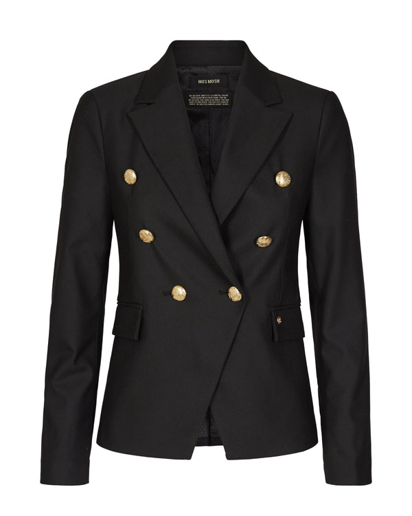 Mos Mosh Beliz Twiggy Blazer Sustainable Black