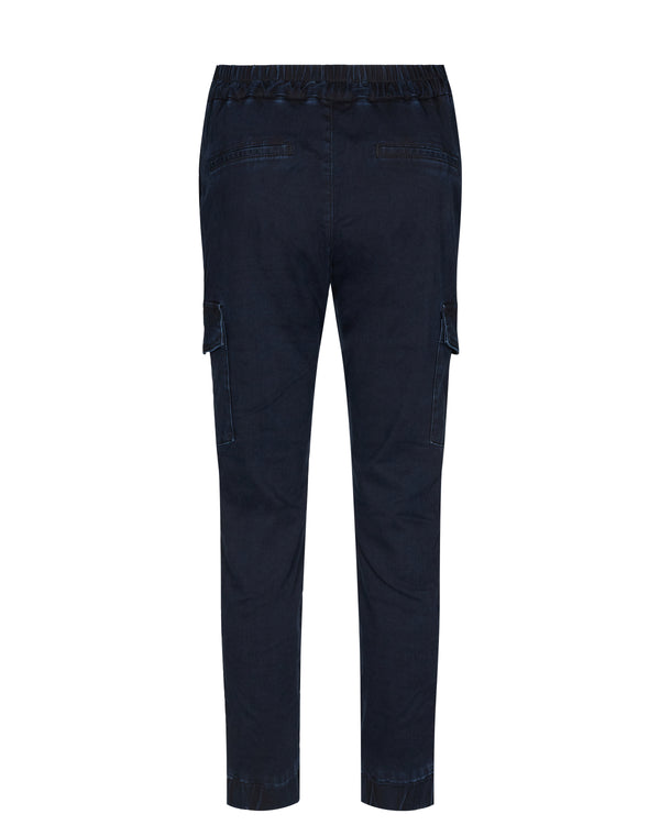 Gito Indigo Cargo Pant 480 Dark Blue Denim