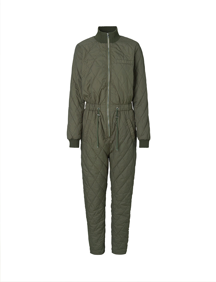 Isolde Snowsuit Dark Green