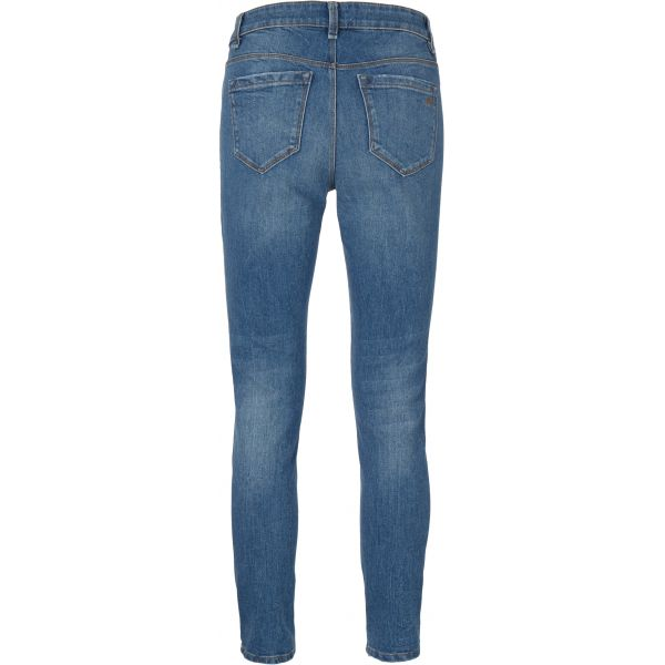 Alexa Ankle Jeans Wash Maracay Distressed Denim Blue