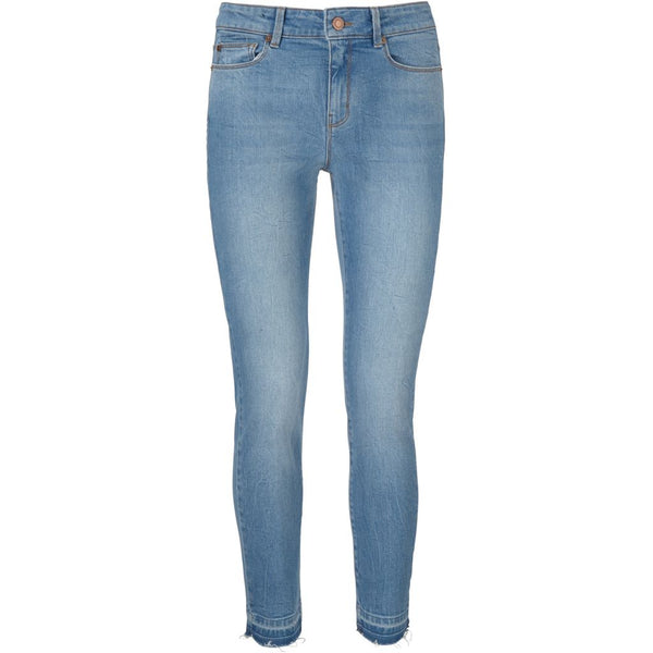Alexa Ankle Jeans Wash Vina Del Mar Used Denim Blue