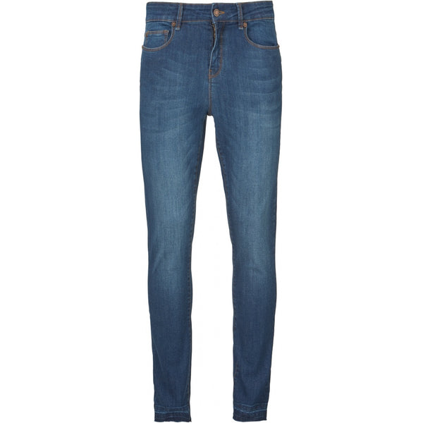 Alexa Ankle Wash Jeans Tacna Denim Blue