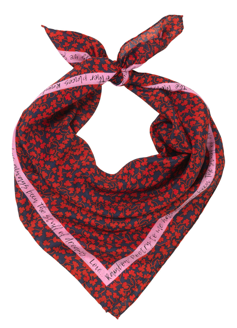 Nora Scarf Red Love