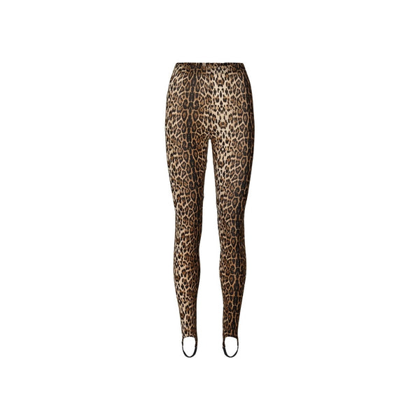 Lollys Laundry Dolly Leggings Leopard Brown