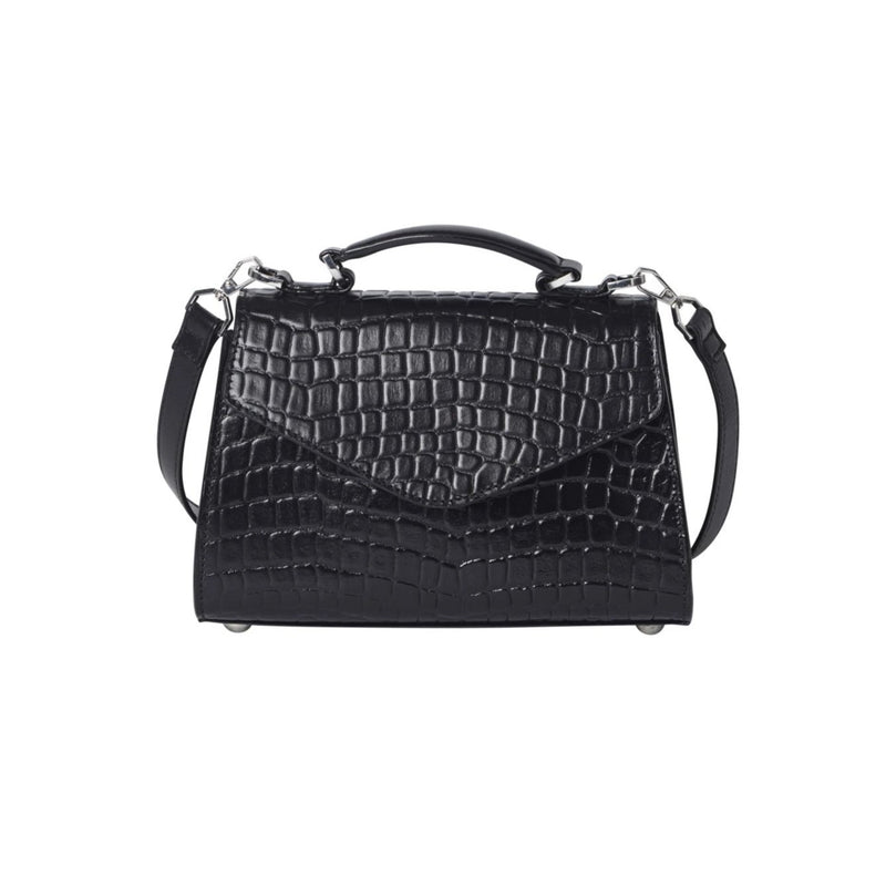 Croc Petit Malery Bag Black