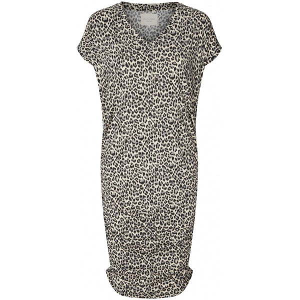 Lollys Laundry Indiana Dress Leopard Grey