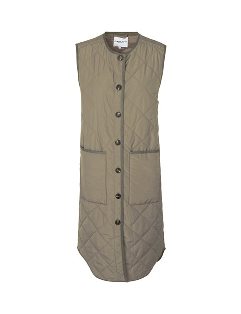 Global Funk Kaison Vest Khaki Dust