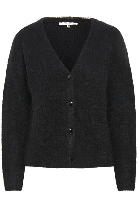 Debbie V-neck Cardigan Black