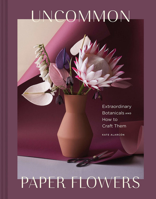 "New Mags ""Uncommon Paper Flowers"" Coffee Table Book"
