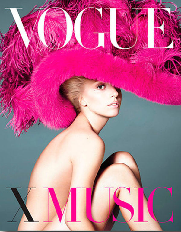 "New Mags ""VOGUE X Music"" Coffee Table Book"