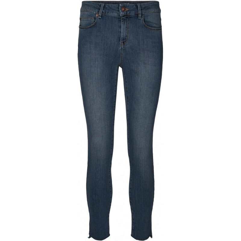 Alexa Ankle Wash Jeans Silver Indigo Denim Blue