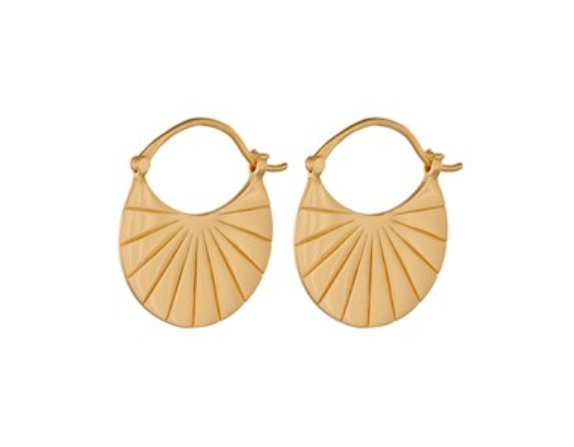 Copenhagen Earrings Gold
