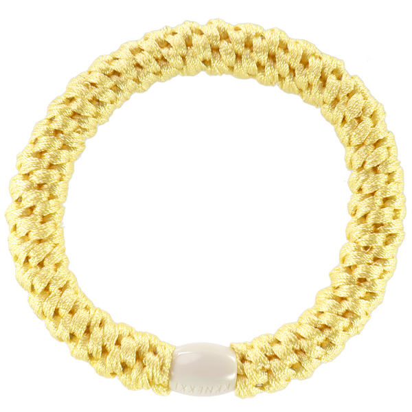 Kknekki Hair Ties Light Yellow