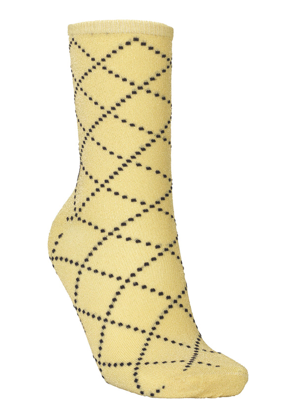 Dina Love Sock Yellow