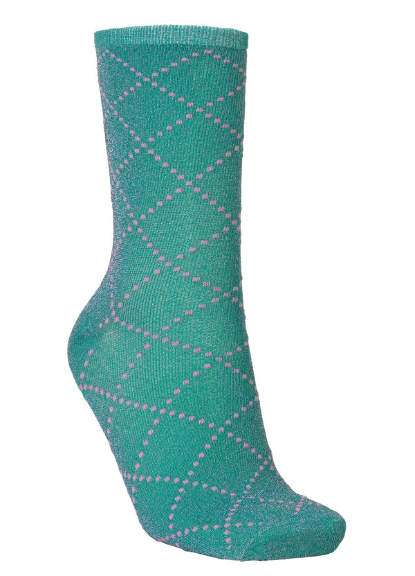 Dina Love Sock Green