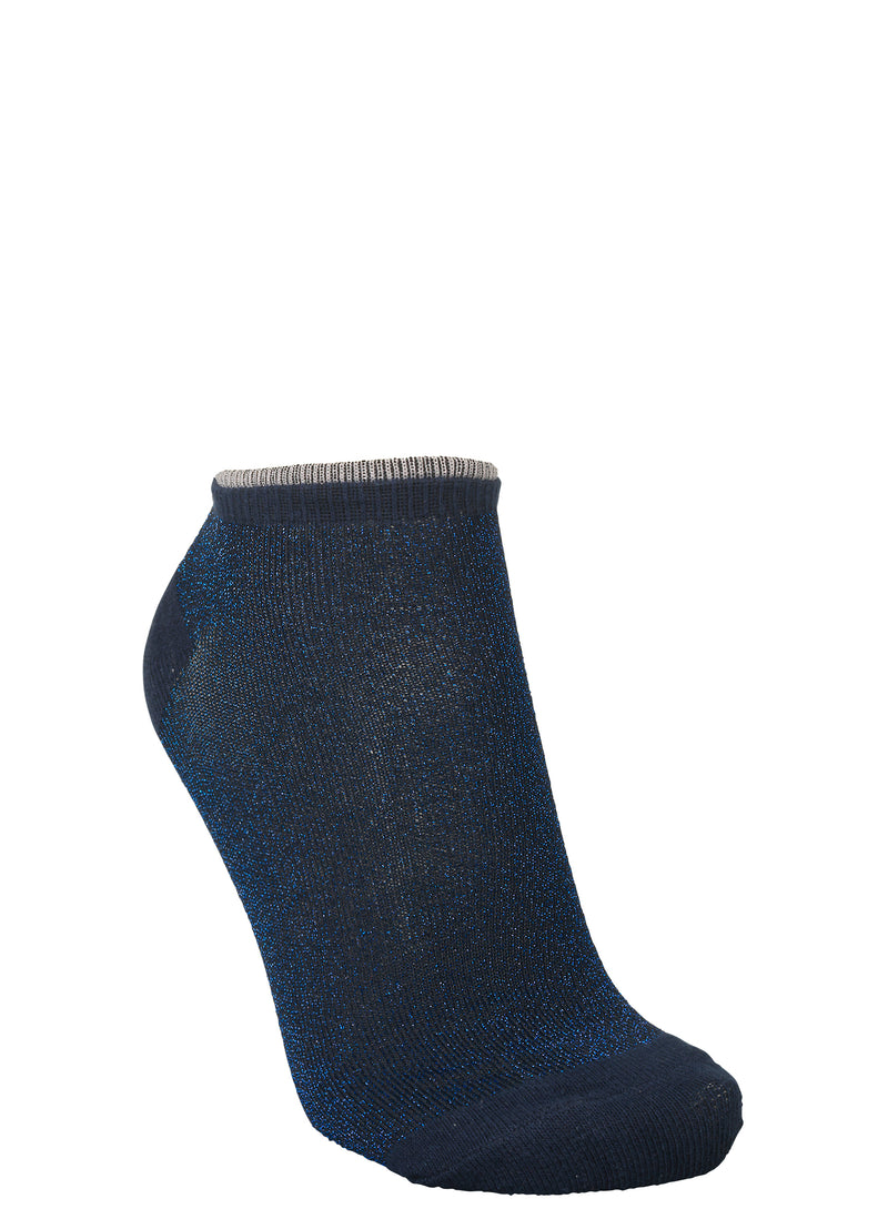 Dollie Solid Sock Medieval Blue