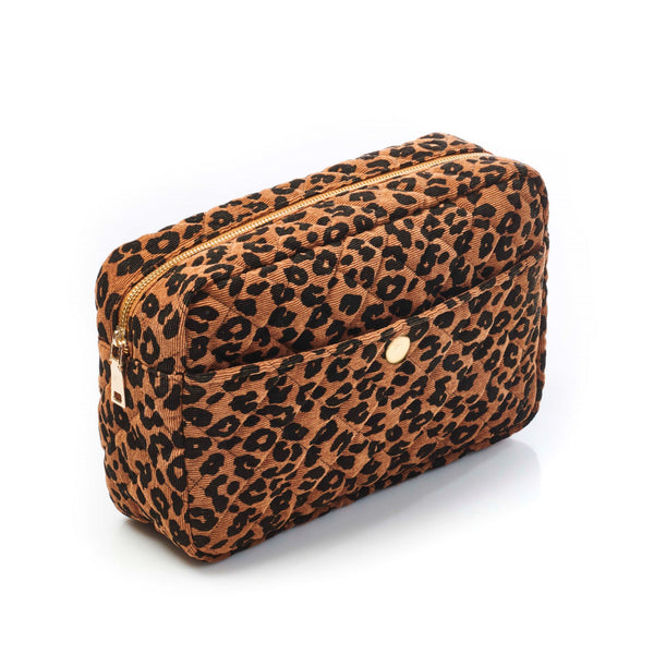 Large Beauty Bag Leopard