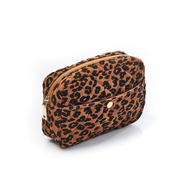 Medium Beauty Bag Leopard
