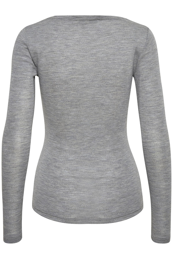 Wilmagz Long Sleeved Tee Grey