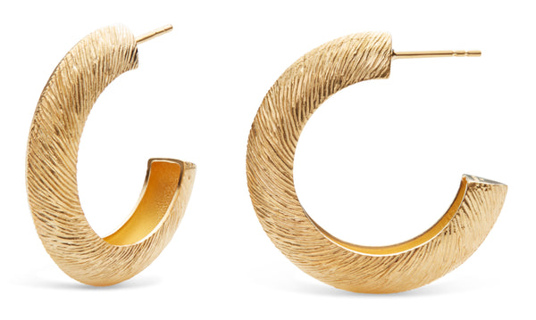 Holly Big Hoops Gold