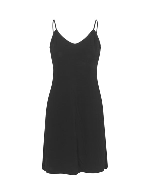 Caro Slip Dress Black