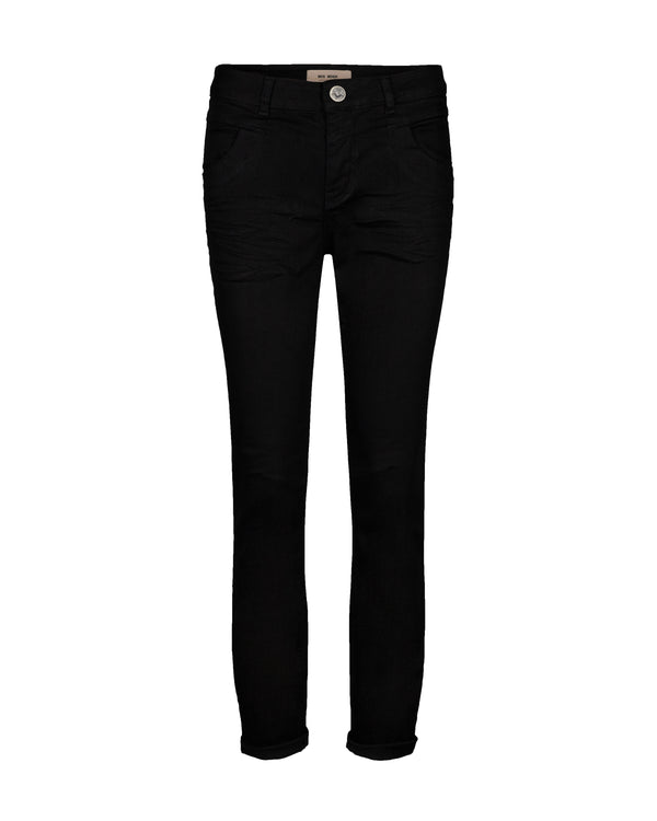 Naomi Hybrid Jeans long 810 Black denim