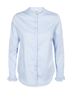 Mattie Sustainable Shirt Light Blue