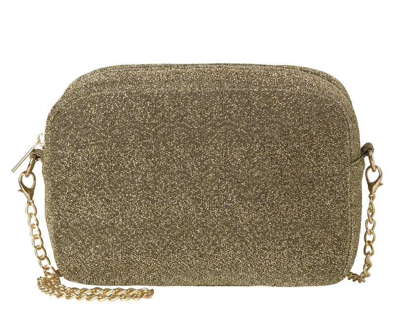 Paya Glitz Bag Gold