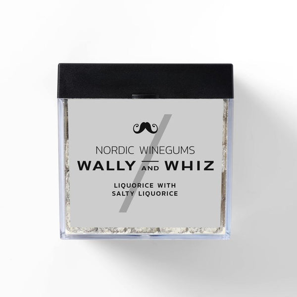 Wally And Whiz Gourmet Vingummi Lakrids Med Saltlakrids