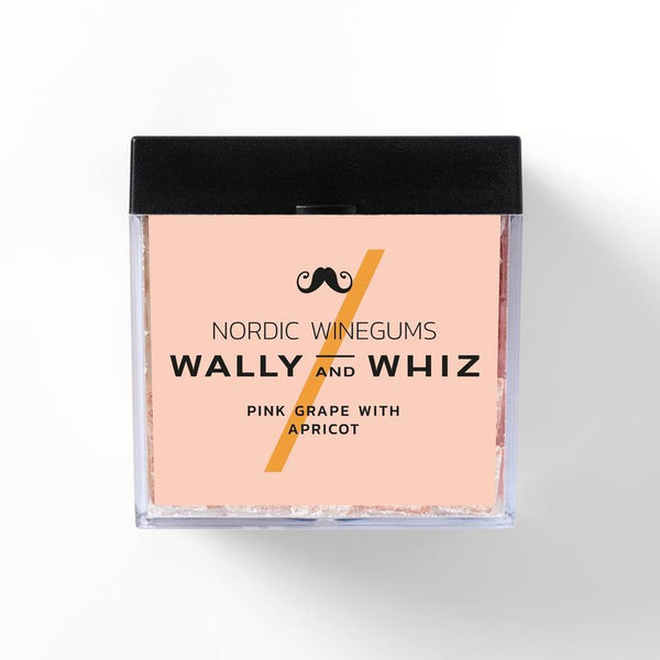 Wally And Whiz Gourmet Vingummi Pink Grape Med Abrikos