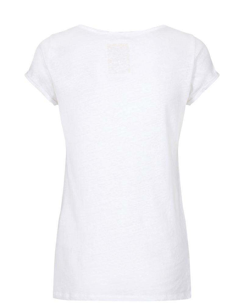 Mos Mosh Troy T-Shirt White