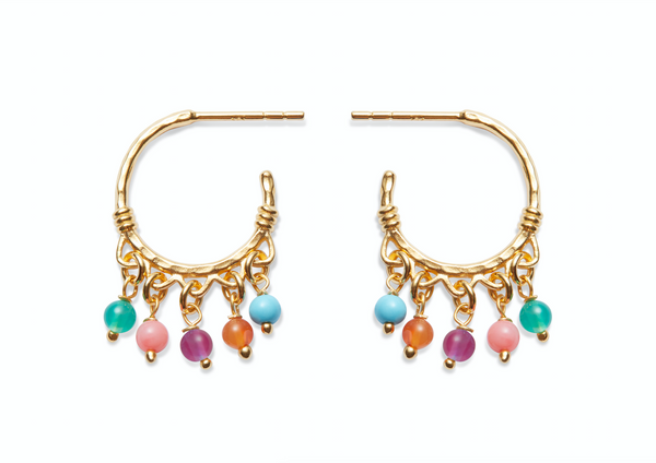 Odelia Earrings Gold