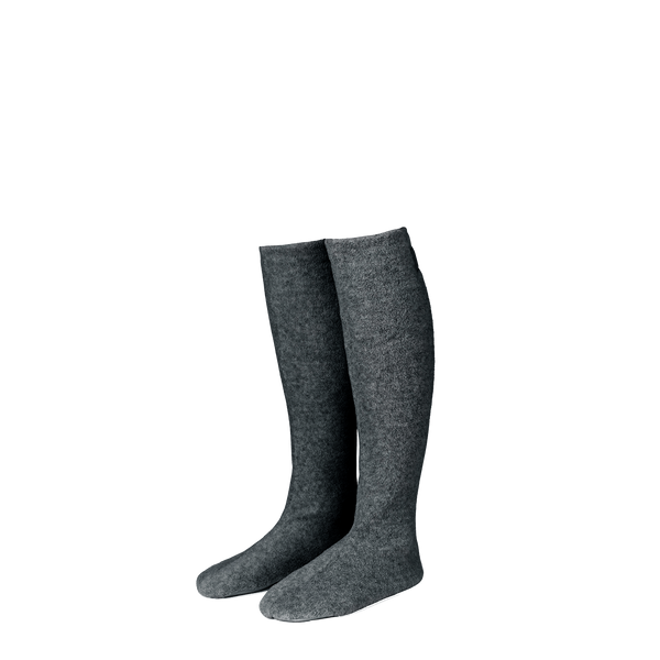 Cozy Fleecesokker Dark Grey
