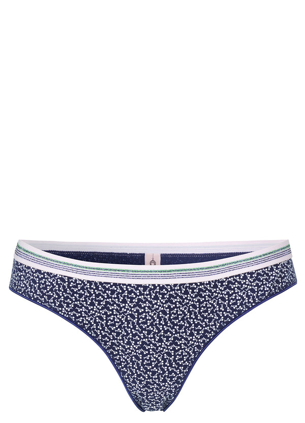 Twinkle Cherry Bottom Navy Blue