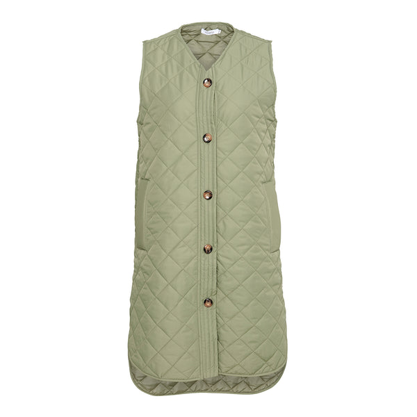 Noella Vilma Vest Dusty Army