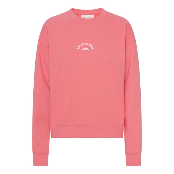 Notes Du Nord Wade Sweatshirt Pink Fire