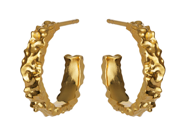 Aio Medium Earring Gold