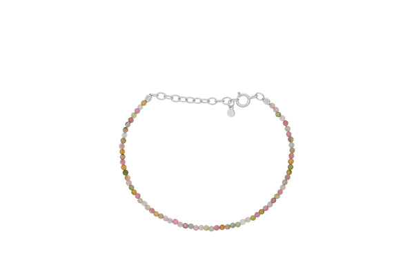 Light Rainbow Bracelet Silver