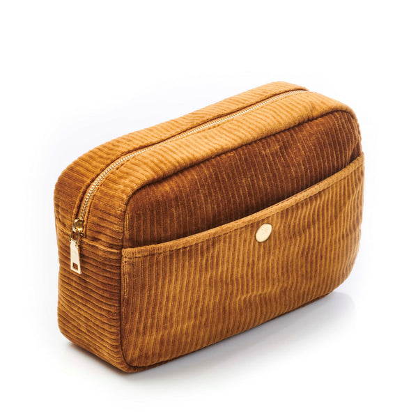 Large Beauty Bag Brandy