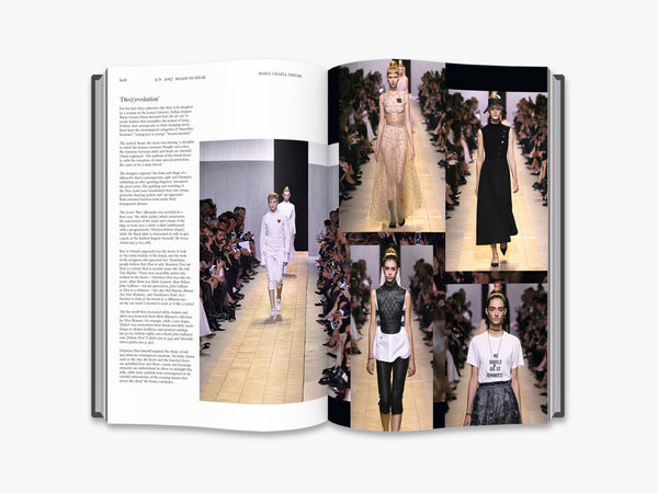 "New Mags ""Dior Catwalk"" Coffee Table Book"
