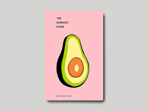 The Avocado show - Coffee Tabels Book