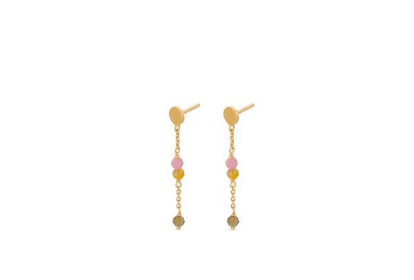 Afterglow Pastel Earchains Gold