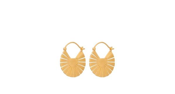 Flare Earrings Gold