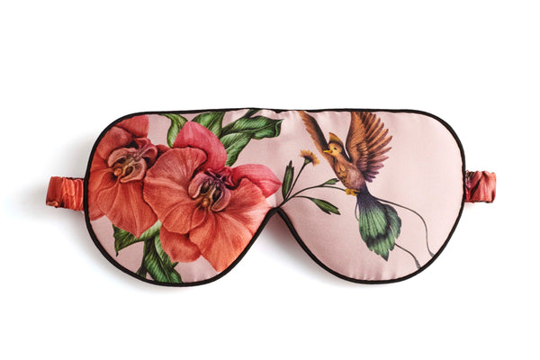 Rose Flower Sleeping Eye Mask